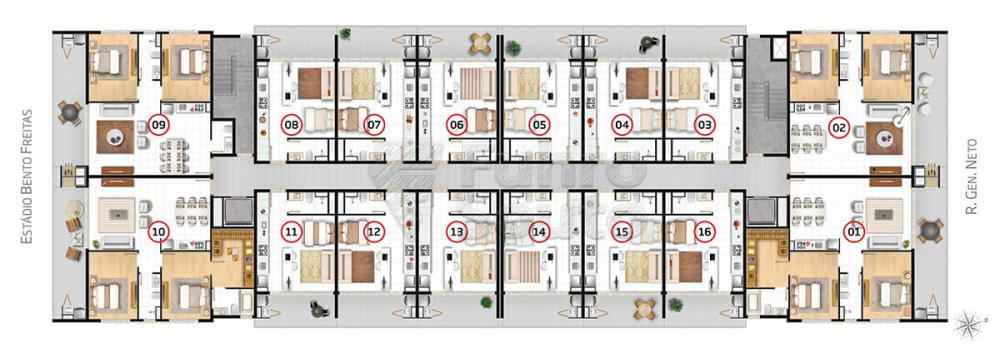 Comprar Apartamento / Loft / Studio em Pelotas R$ 270.000,00 - Foto 4